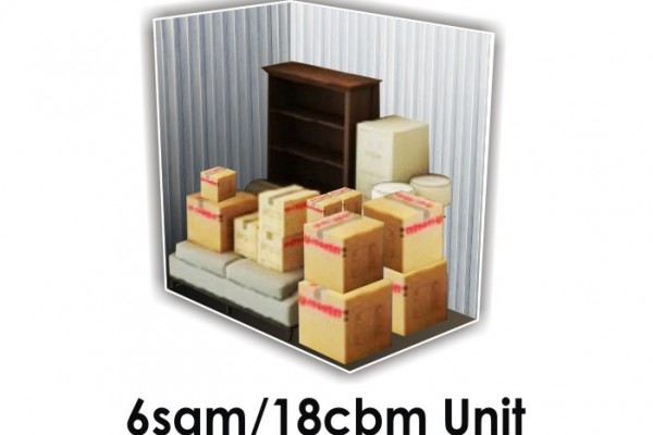 6 SQM x 18 CBM Storage Unit